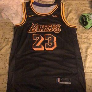 new style fb967 a98e3 Nike Shirts | Lebron James Lakers Jersey Gold Icon | Poshmark
